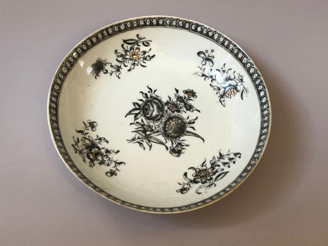 TWO OF CHINESE ANTIQUE EXPORT PORCELAIN DISHES,18C - 2