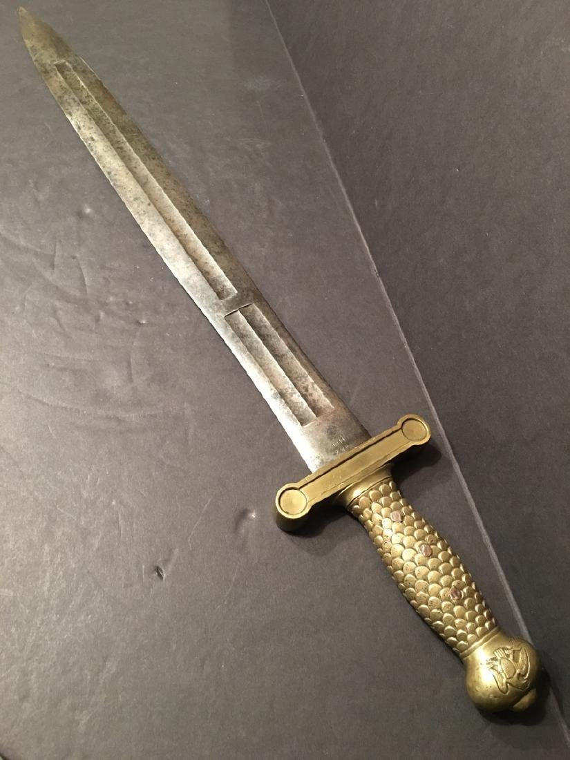 OLD M1832 Civil War Foot Artillery Sword, dated 1841
