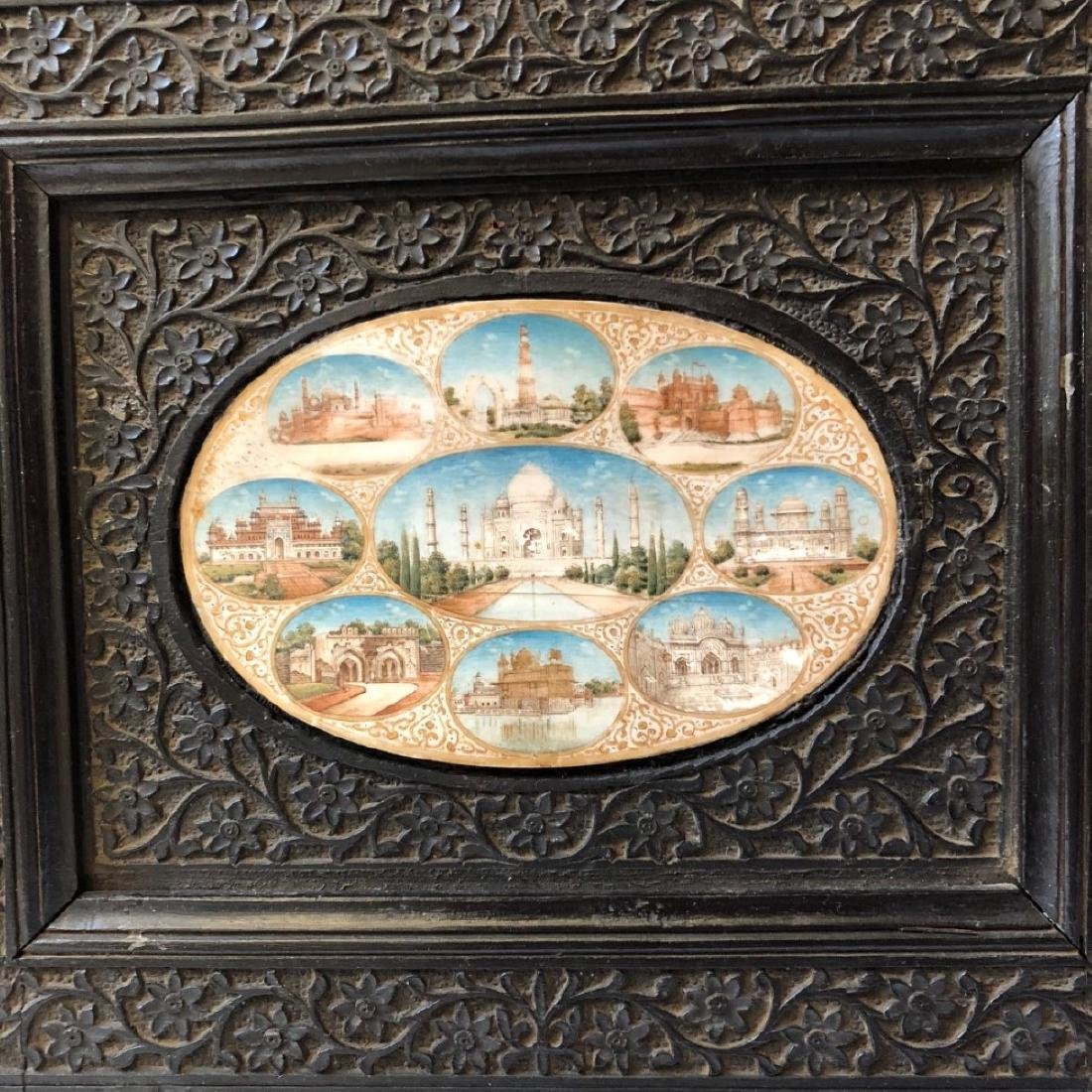 A BEAUTIFUL INDIAN ANTIQUE PAINTING IN FRAME - 2