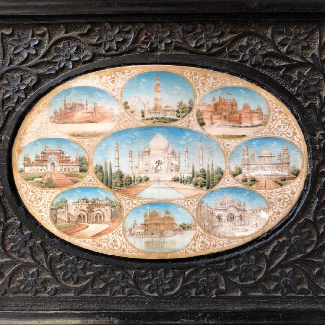A BEAUTIFUL INDIAN ANTIQUE PAINTING IN FRAME - 3