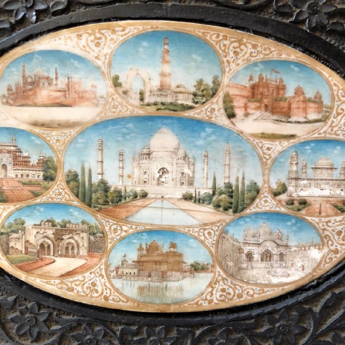A BEAUTIFUL INDIAN ANTIQUE PAINTING IN FRAME - 4