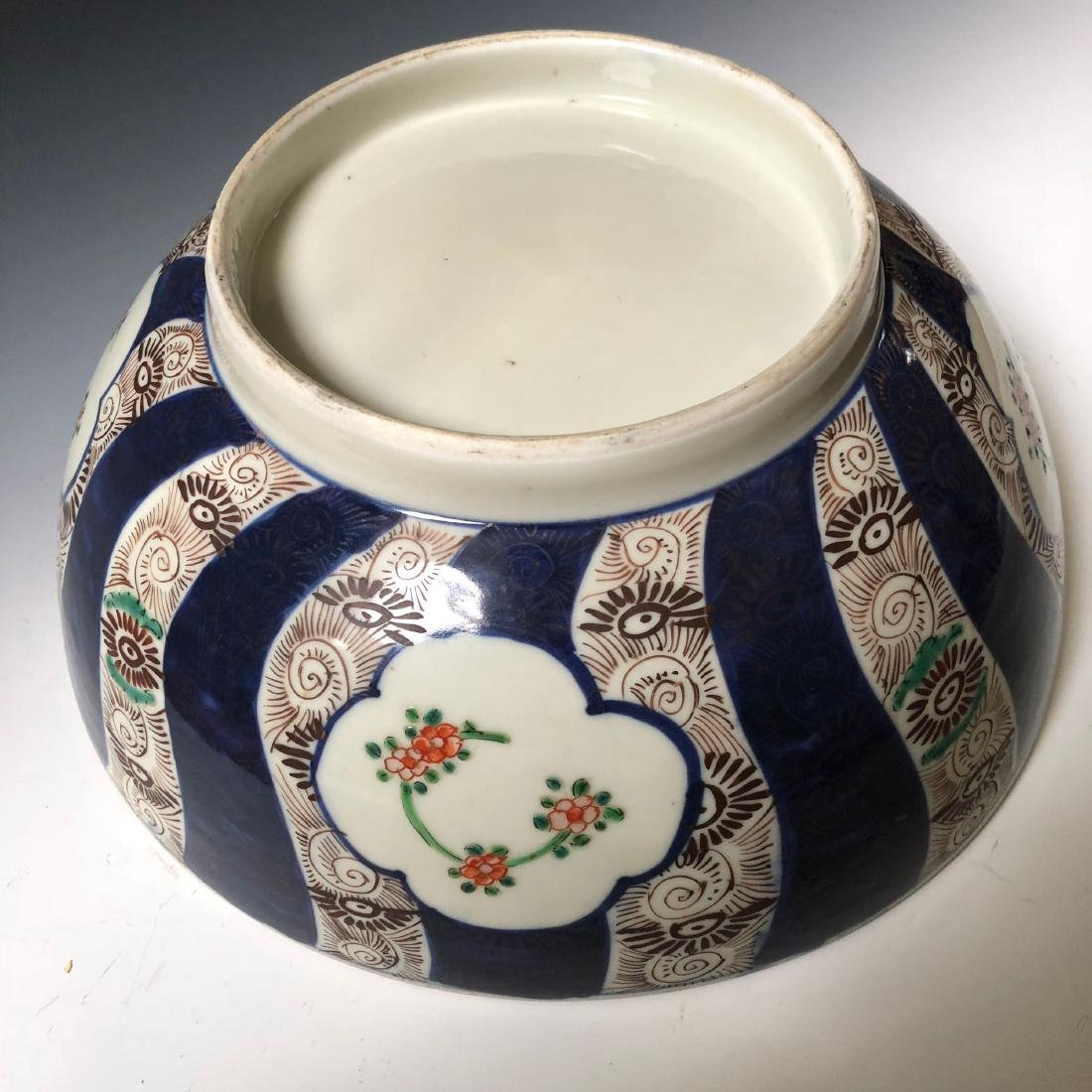 A JAPANESE PORCELAIN BOWL. - 4