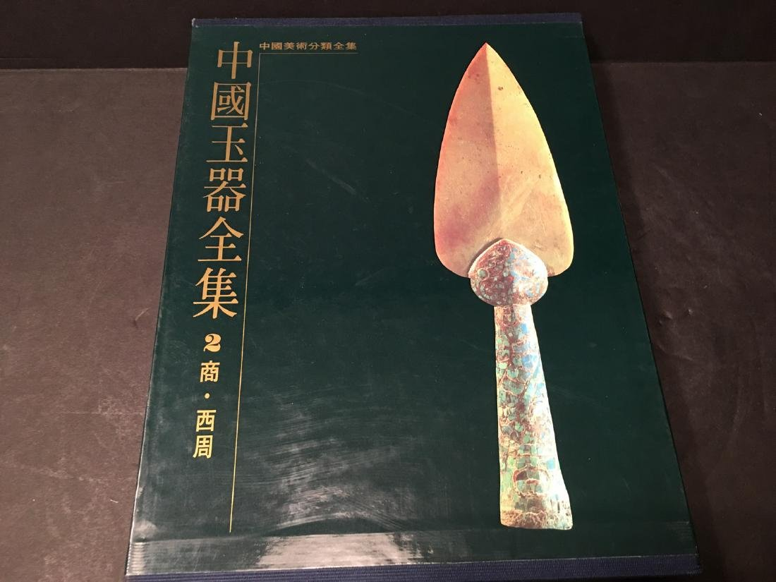 RARE Chinese Large JADE Reference Books, 6 volumes - 4