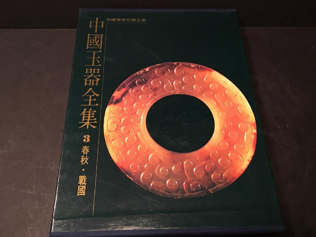 RARE Chinese Large JADE Reference Books, 6 volumes - 5