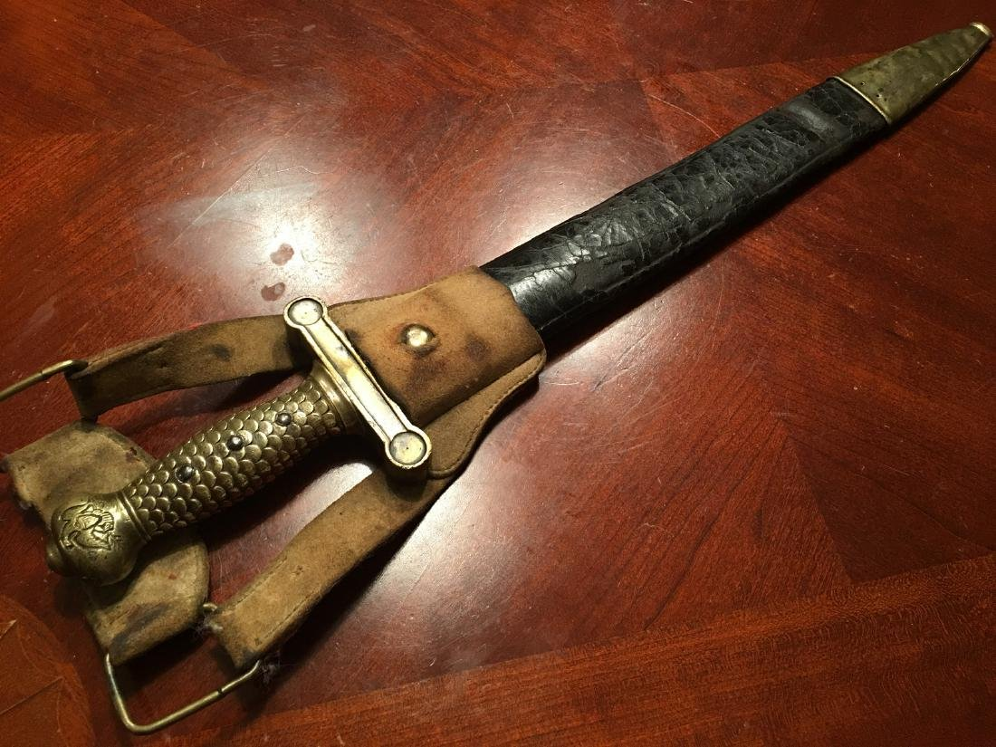 ANTIQUE M1832 Military Artillery Foot Sword, dated 1832