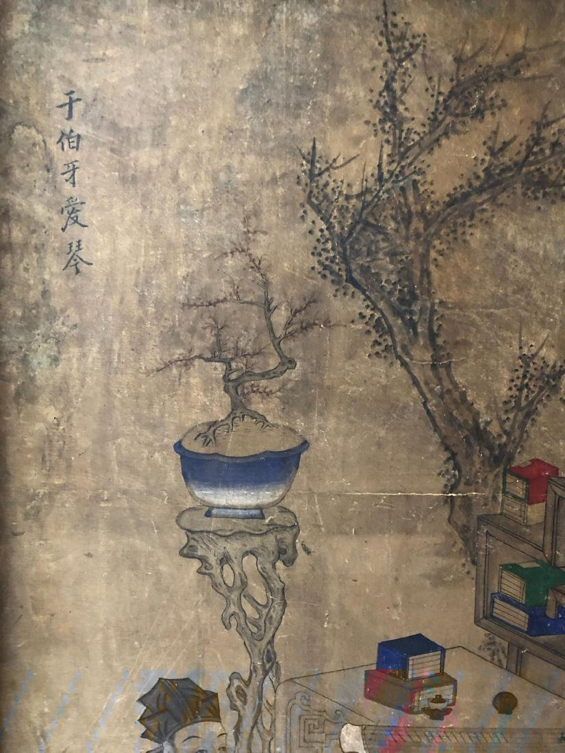 A PAIR OF CHINESE  ANTIQUE PAINTING - 4