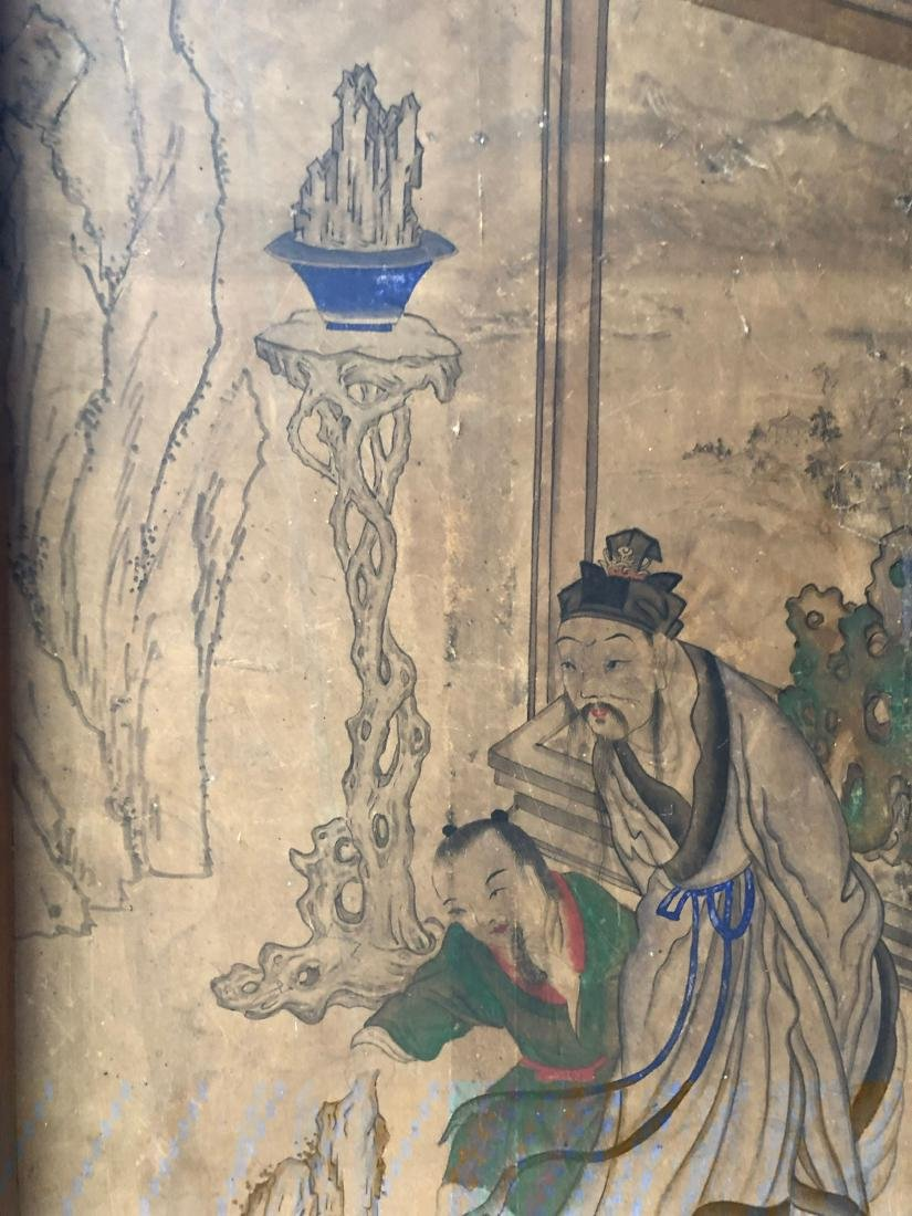A PAIR OF CHINESE  ANTIQUE PAINTING - 6