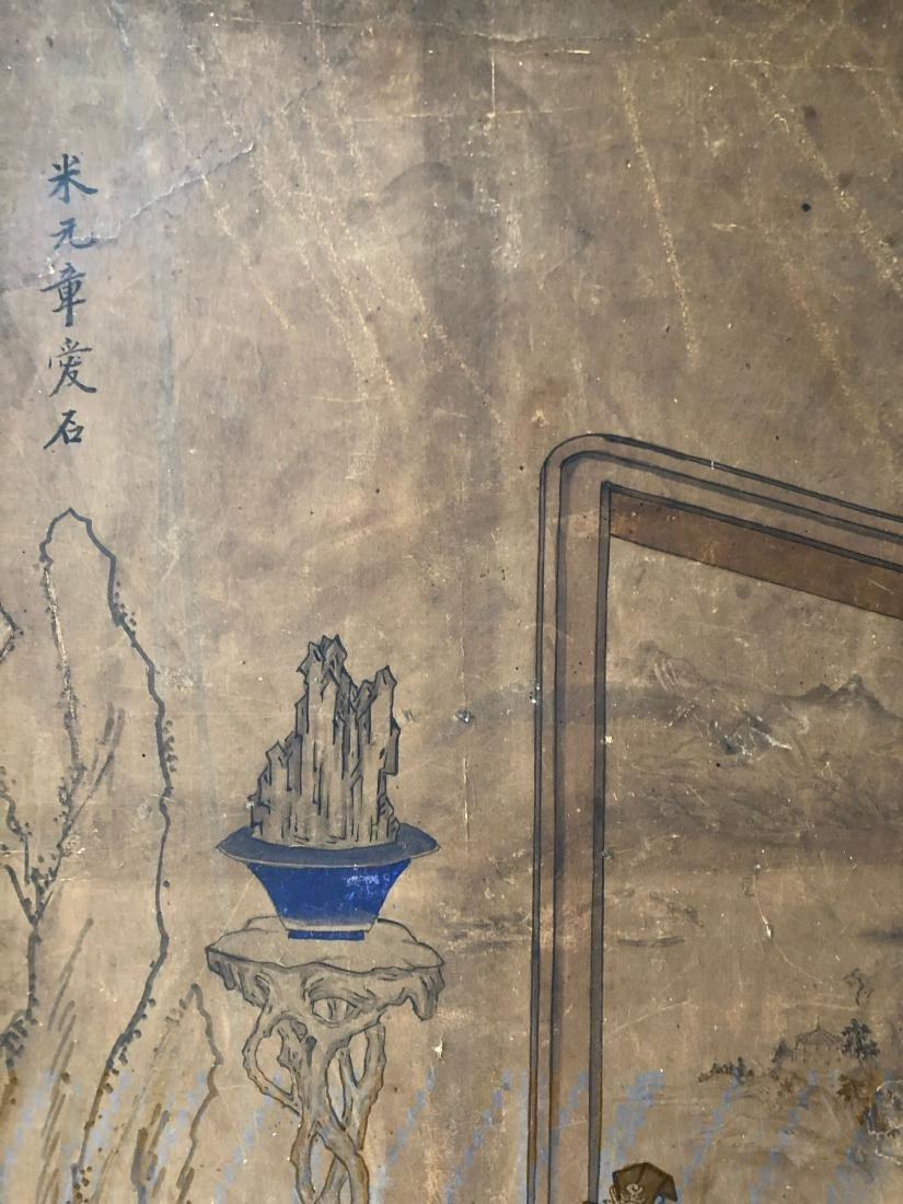 A PAIR OF CHINESE  ANTIQUE PAINTING - 7