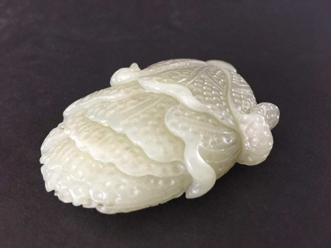 OLD Chinese White Jade Cabbage - 3