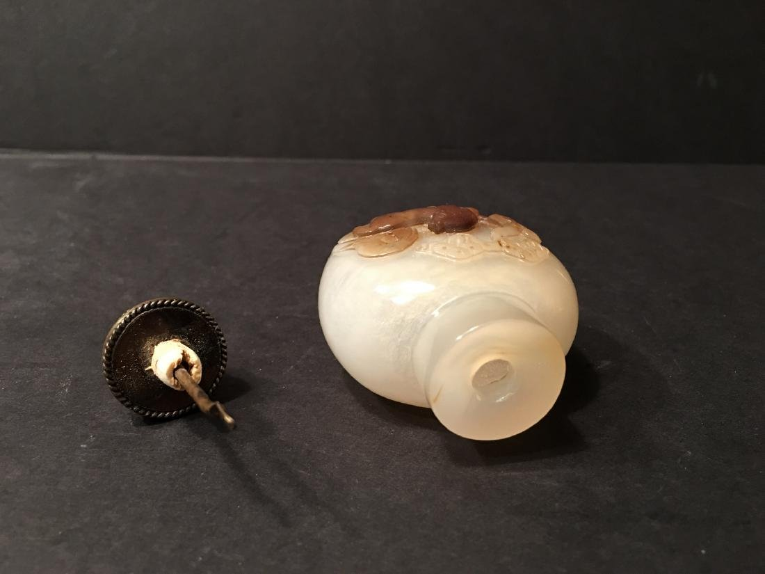 OLD Two Chinese Agate Snuff Bottles, 19th century - 5