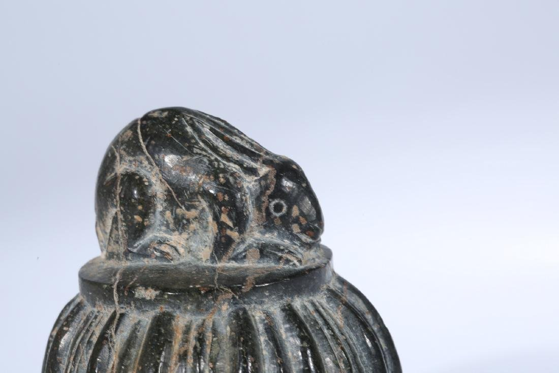 Chinese carved stone seal. - 8