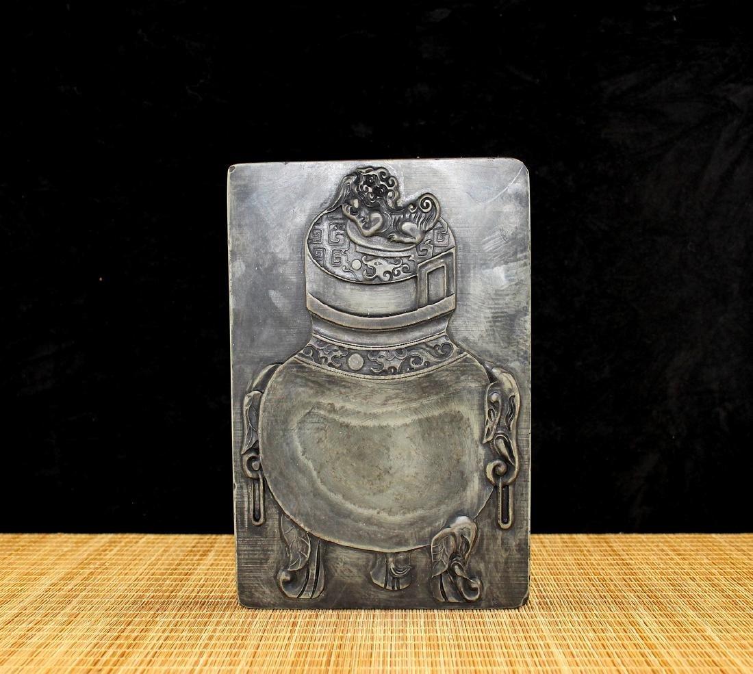 Chinese ink stone.
