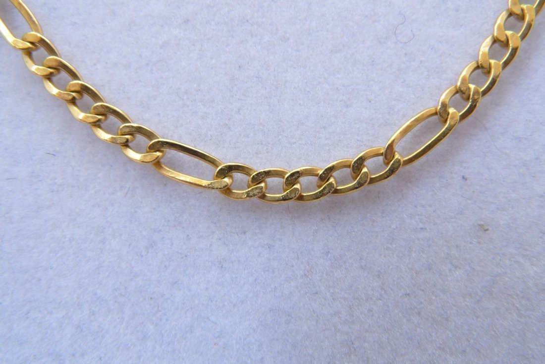 "14K Yellow Gold Necklace. 18"" 2.2g"