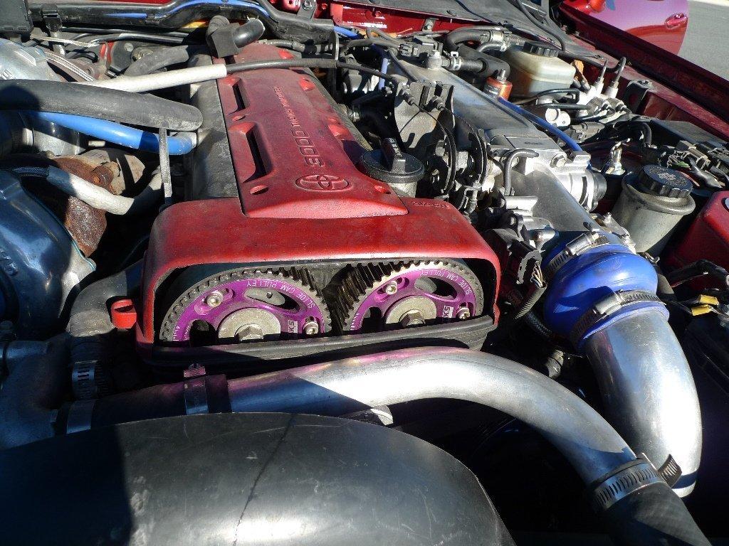 1993 Toyota Supra MK4 HKS Twin Turbo Targa Top 600 RWHP - 7
