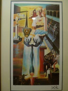 Salvador Dali (1904-1989), Invisible Man, Color