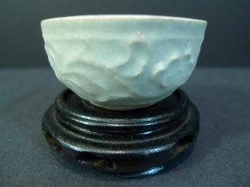 Antique Chinese Qingbai Porcelain Bowl Yuan Dynasty