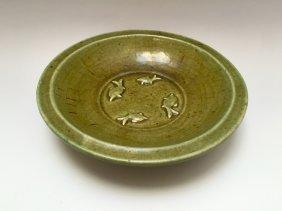 Chinese Antique Celadon-glazed Dish