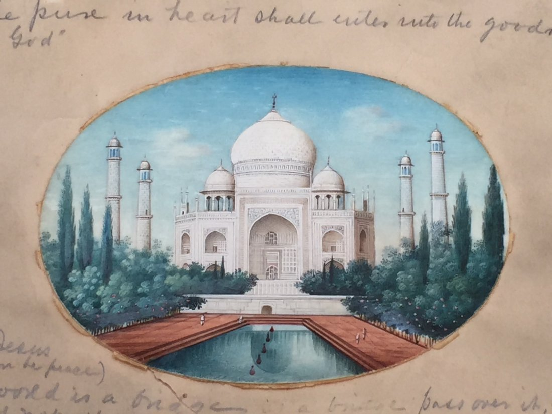 FINE INDIA OLD PAINTING