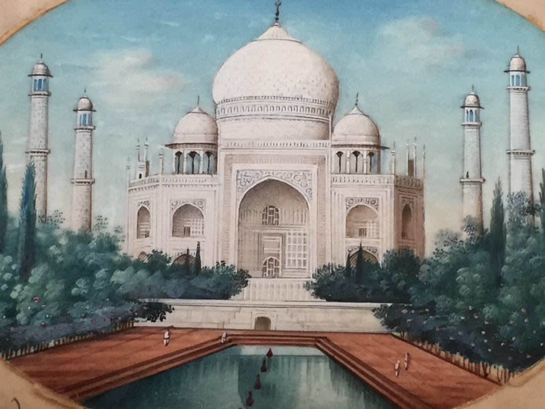 FINE INDIA OLD PAINTING - 2