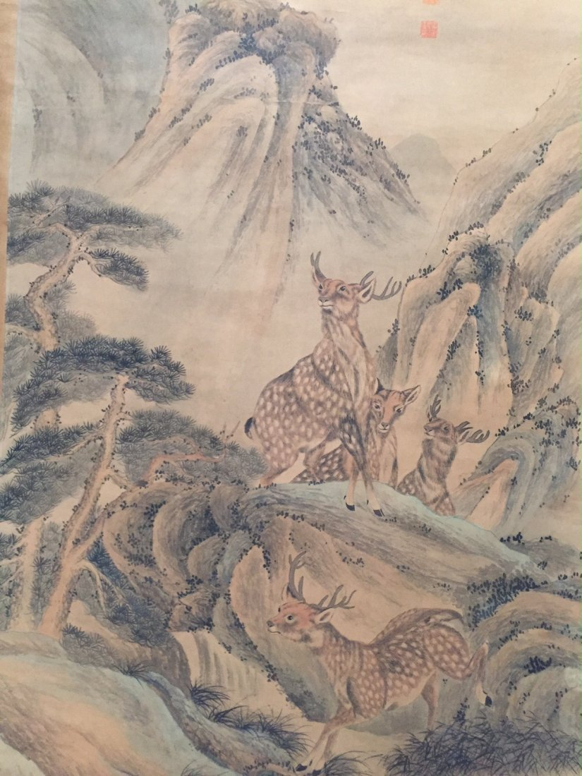 CHINESE ANTIQUE PAINTING 19TH CENTURY - 3