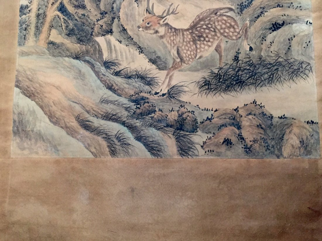 CHINESE ANTIQUE PAINTING 19TH CENTURY - 5
