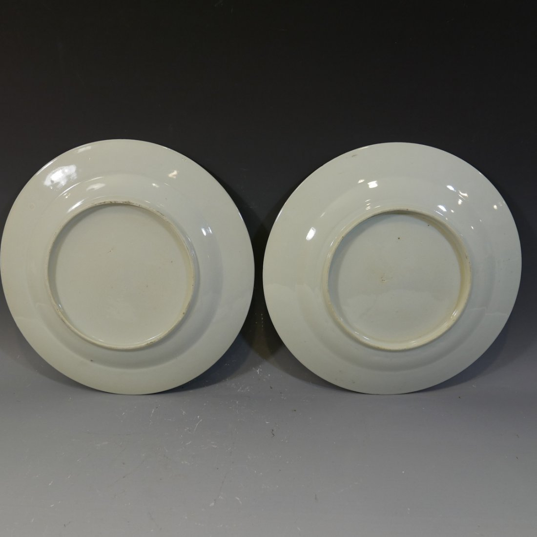 PAIR ANTIQUE CHINESE FAMILLE ROSE PORCELAIN PLATES - 18 - 4