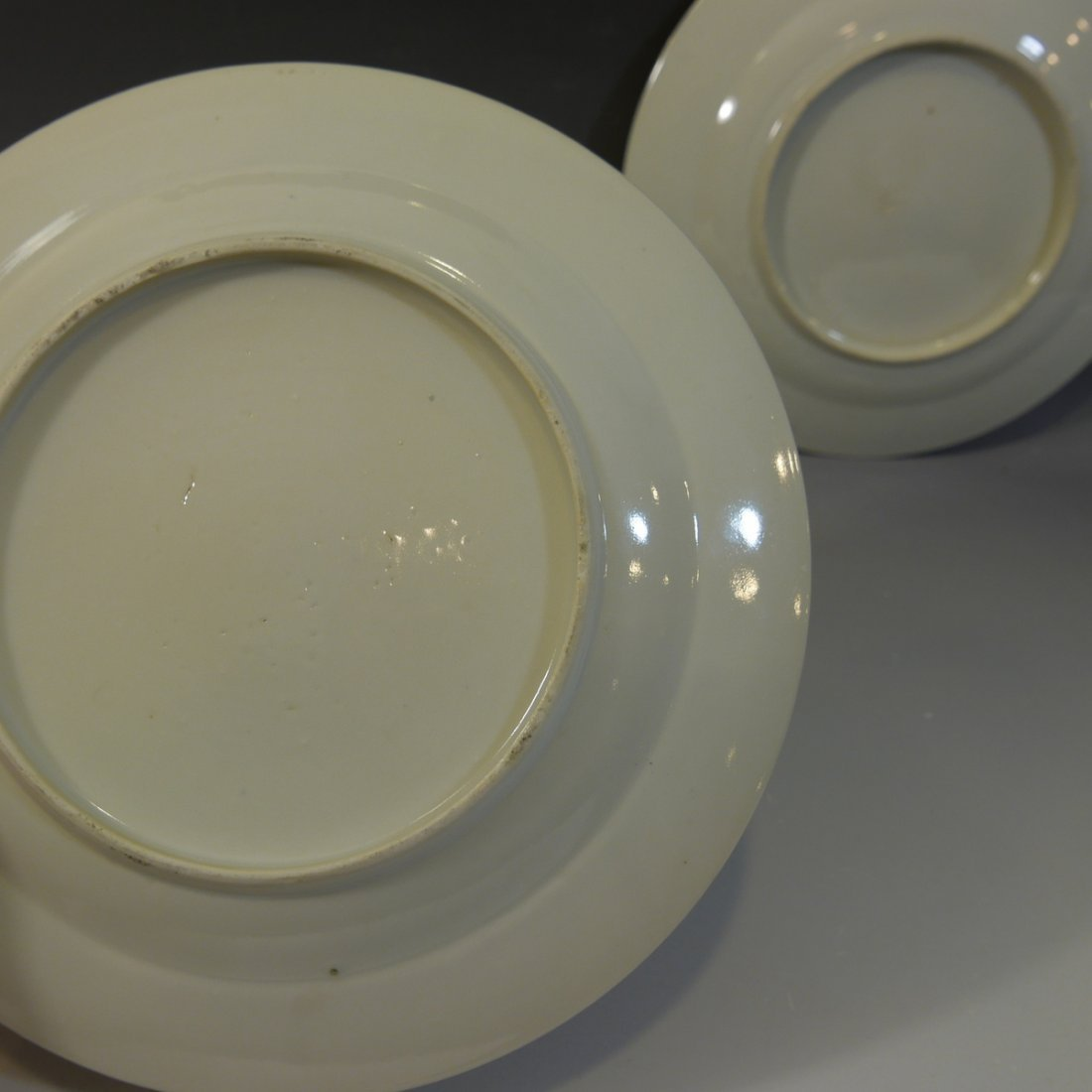 PAIR ANTIQUE CHINESE FAMILLE ROSE PORCELAIN PLATES - 18 - 5