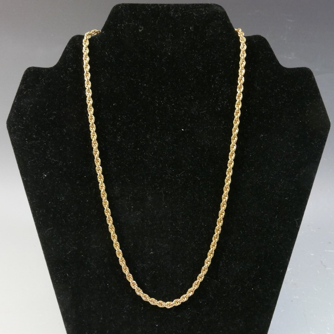 14K GOLD CHAIN NECKLACE - 20 GRAMS