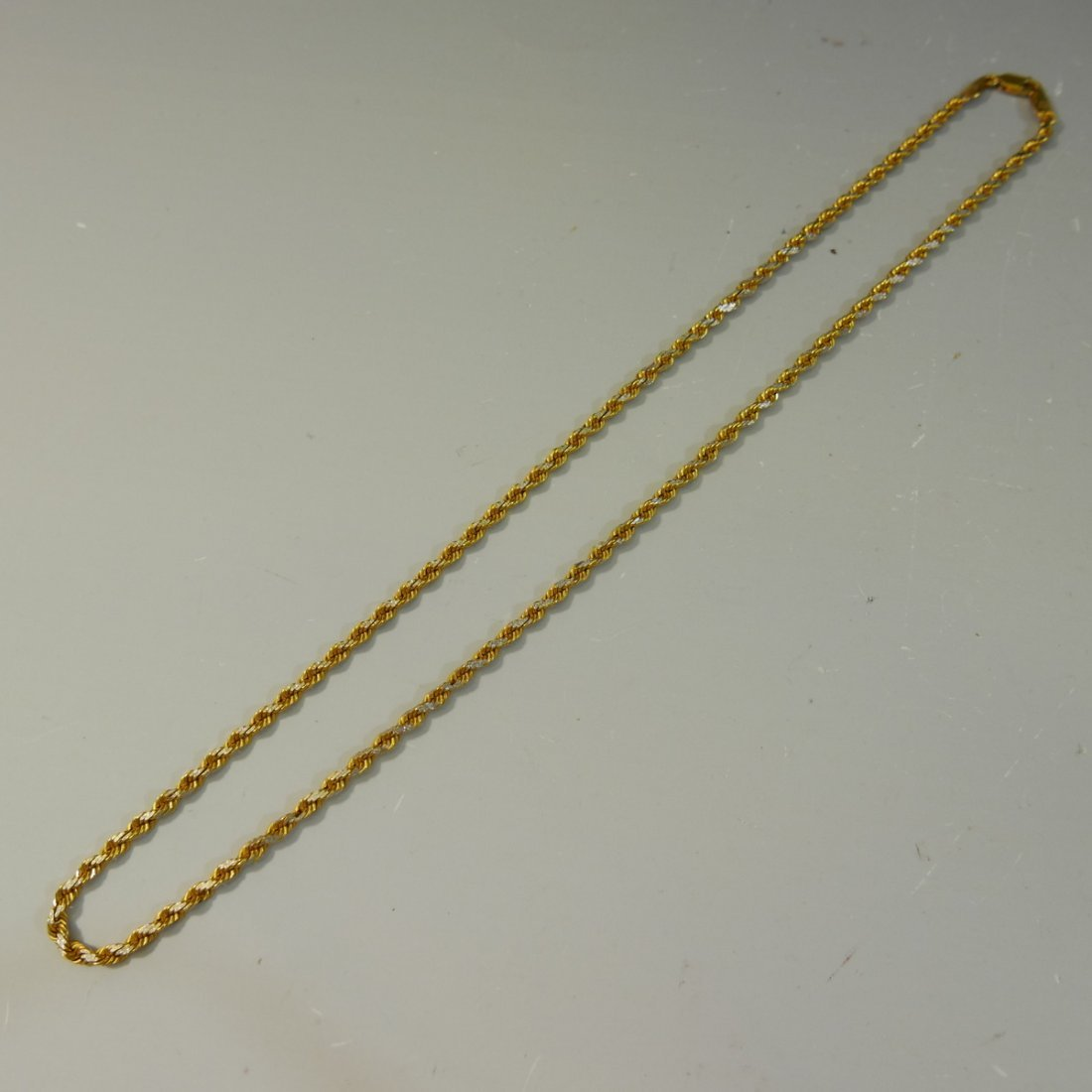 22K GOLD CHAIN NECKLACE - 24 GRAMS