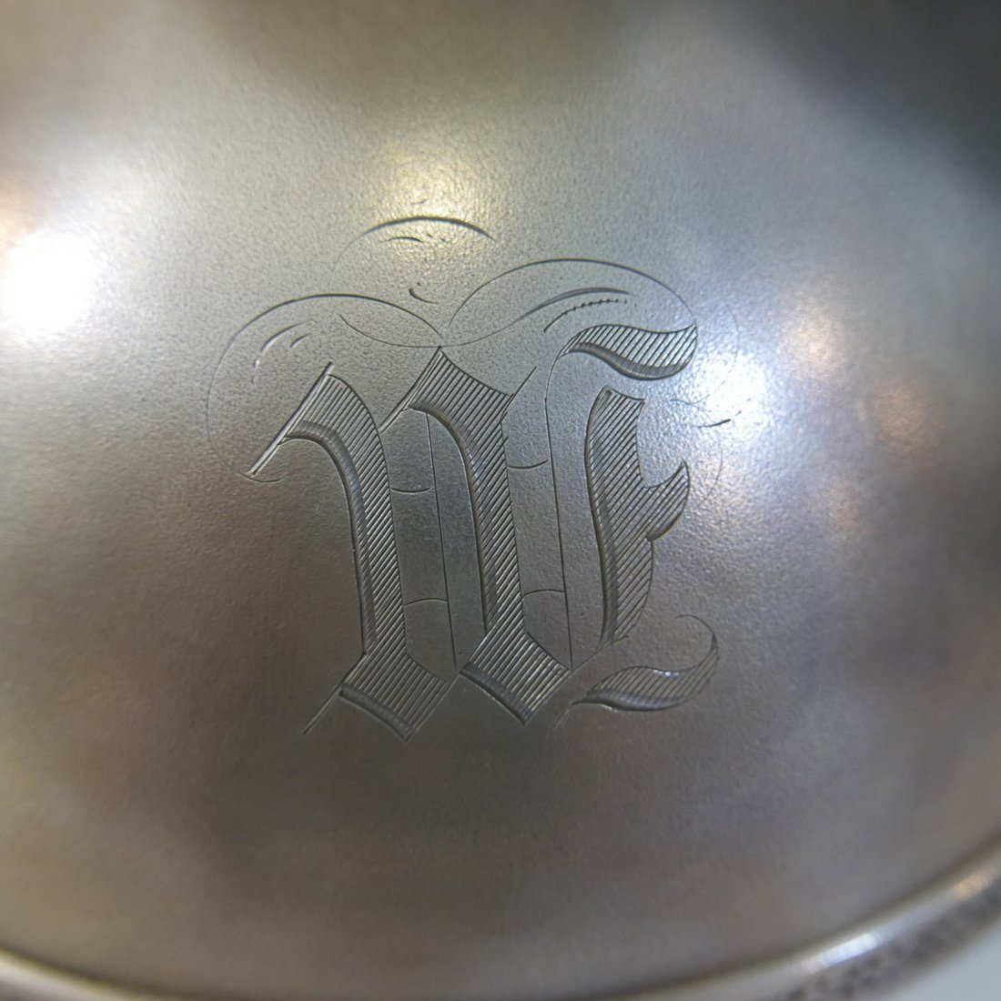 J.E. CALDWELL & CO STERLING SILVER FOOTED BOWL - 530 - 3