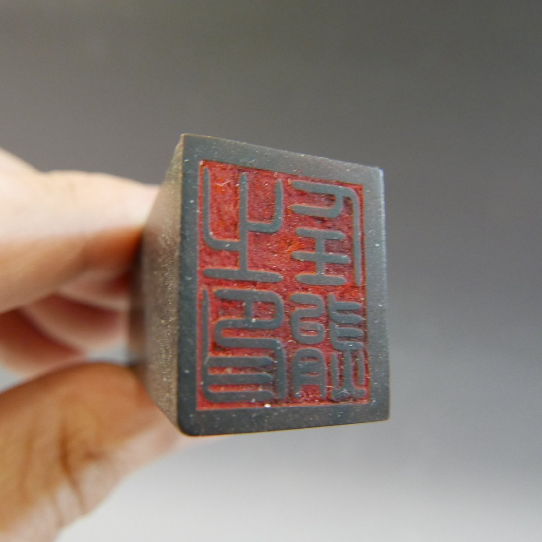 ANTIQUE CHINESE HORN SEAL - REPUBLIC PERIOD - 4