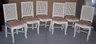 Cane Backed Dining Chairs