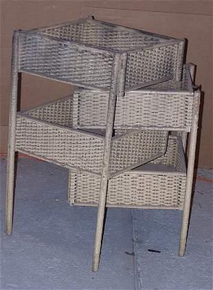 Wicker Sewing Basket