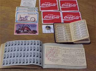 WWII Ration Book, 1982 World's Fair Ticket Stubs