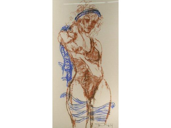 1003: British Drawing Dancer Tom Merrifield