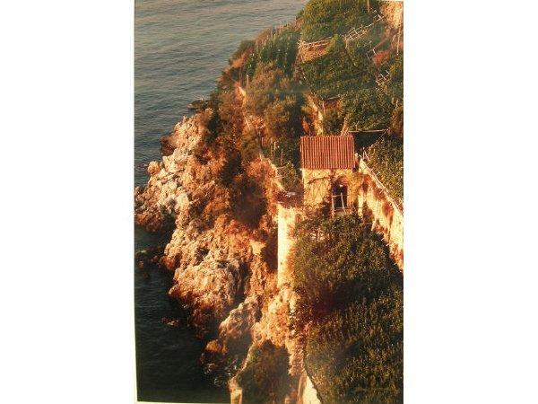 1010: Italian Cliffside Village Photograph