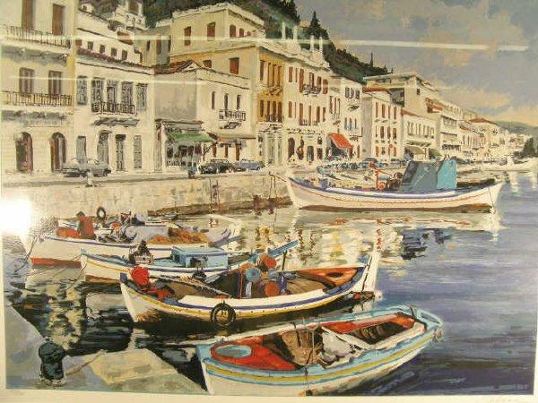 1015: Schoon Mediterranean Port Print