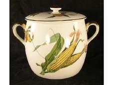 1037 Royal Worcester Evesham Tureen Bean Pot