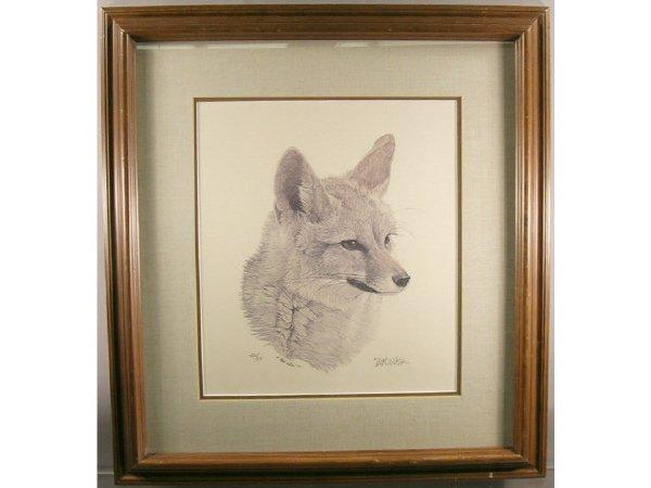 1234: Nick Wilson Kit Fox Engraving - 5