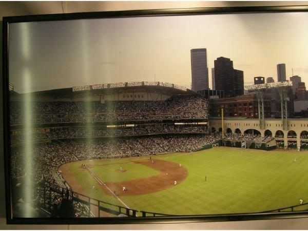 1115A: Enron Field Opening Day Baseball Photograph Mura - 4