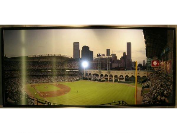 1115A: Enron Field Opening Day Baseball Photograph Mura - 5