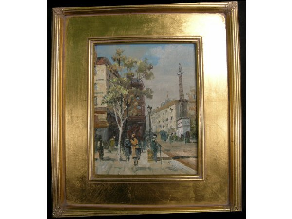 101: Painting Paris Street Scene