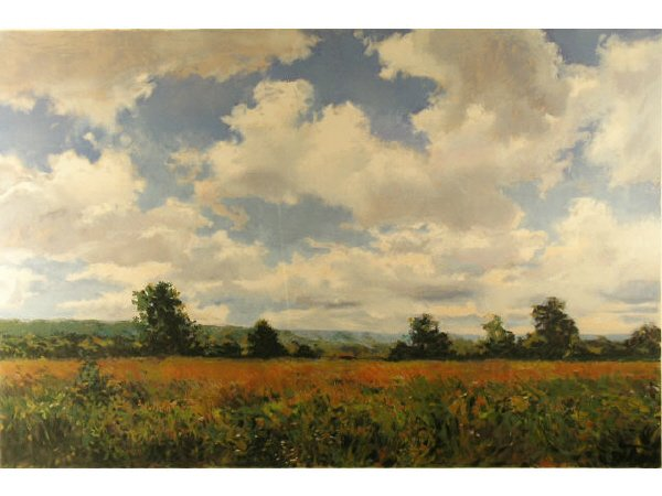 112: Douglas Edwards Serigraph Summer Meadows