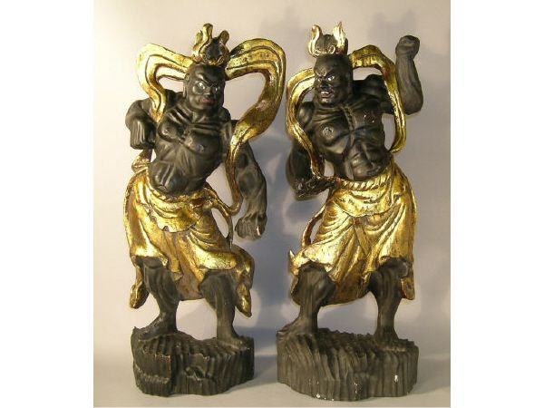 315: Japanese Buddhist Nio Guardians