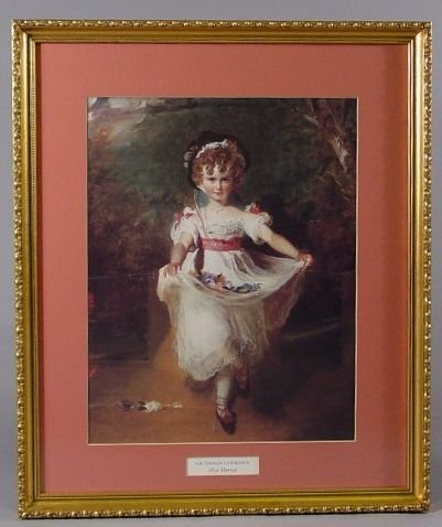 610: Framed Print Miss Murray Sir Thomas Lawrence