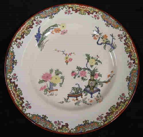 521: Ridgway Plate Asian Design