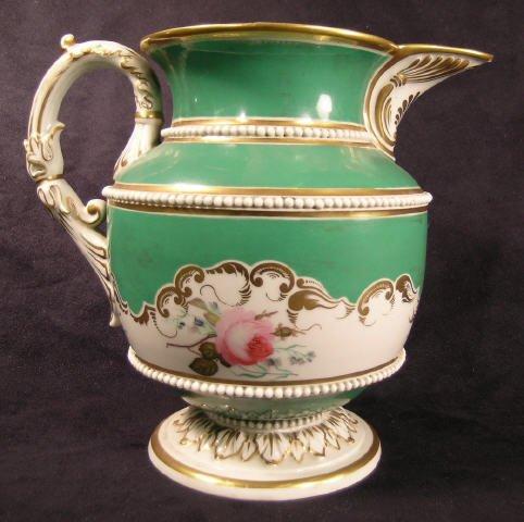 523: Victorian Porcelain Ice Pitcher