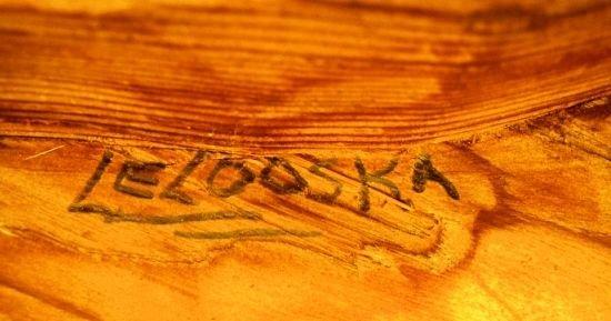 "727: LELOOSKA Northwest Indian Totem Pole 117"" - 9"