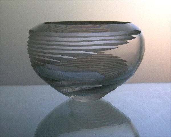 7: Mikasa Crystal Glass Bowl