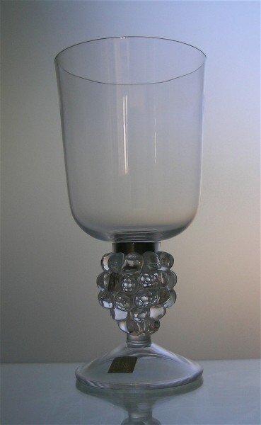 10: Lalique Clos Vougeot Glass Hurricane
